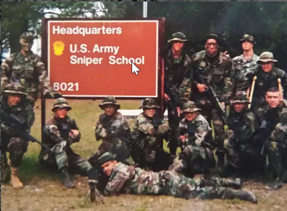 Kenny at Sniper School