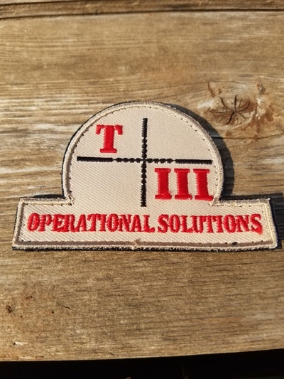 TIII Ops Brand Patch